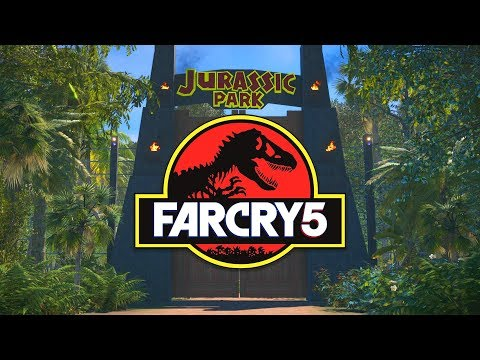 Far Cry 5 Fan Completely Recreates Jurassic Park In Game