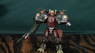 Transformers Armada Predacon Review (Beast Wars Transmetal Megatron)