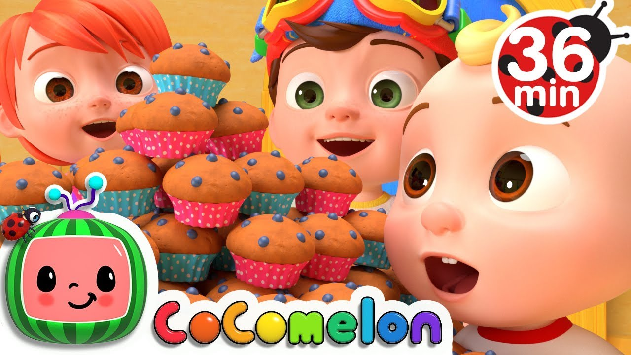 the muffin man more nursery rhymes kids songs cocomelon youtube. Black Bedroom Furniture Sets. Home Design Ideas