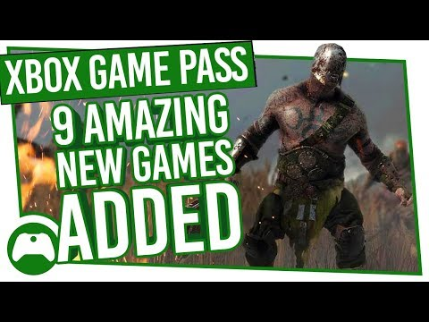 Xbox Game Pass Update: 9 Amazing New Games Added!