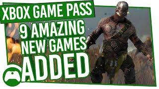 Xbox Game Pass Update: 9 Amazing New Games Added!