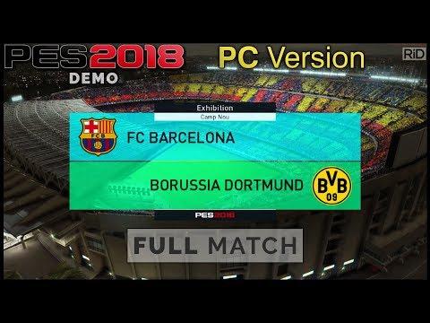 PES 2018 PC Demo Gameplay | Full Match
