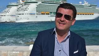 Entrevista a Alberto Muñoz de Royal Caribbean International en CocoCay