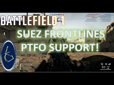 Battlefield 1 Suez Frontlines Support on the Xbox One X
