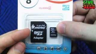 Розпакування # Огляд ►Карта Пам'яті SmartBuy microSDHC 8GB Сlass 4 + SD Adapter◄