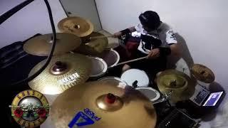 GUNS N' ROSES - ESTRANGED drum cover (GoPro)