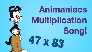 Watch Animaniacs Multiplication video