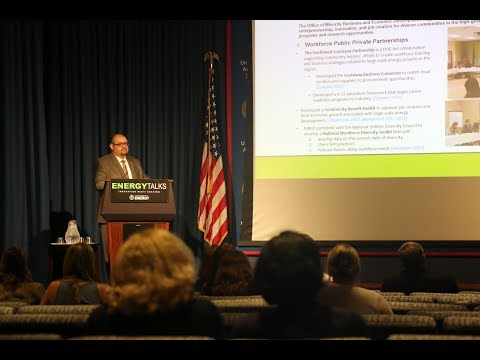 Energy Talks - Minority Business and Economic Development at the Department of Energy