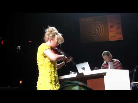 Caitlin Moe & Mia Moretti Perez Hilton One Night in Austin 2011