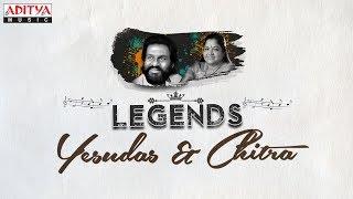 Legends - Yesudas & Chitra   Telugu Golden Songs Jukebox Vol. 1
