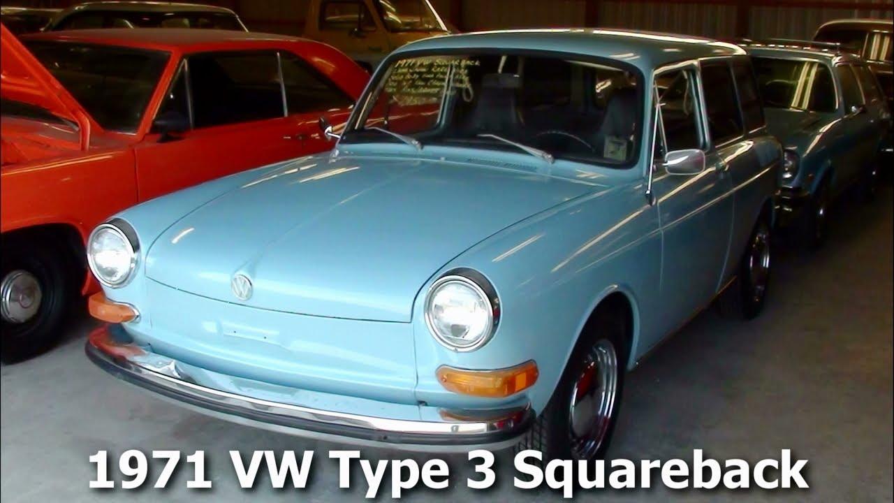1971 VW Type 3 Squareback Wagon - 1600 Dual Port Air-Cooled Flat 4