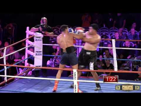 Pacific Promotions Boxing - Australian Heavyweight Title - Willie Nasio v Hunter Sam