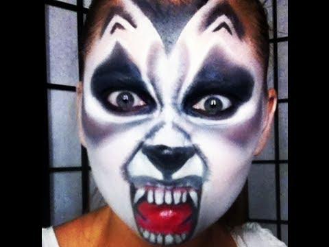 Halloween Makeup Werewolf Loup Garou Youtube