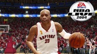 NBA Live 2004 (GAMECUBE) - Vince Carter vs Lebron James 1 on 1