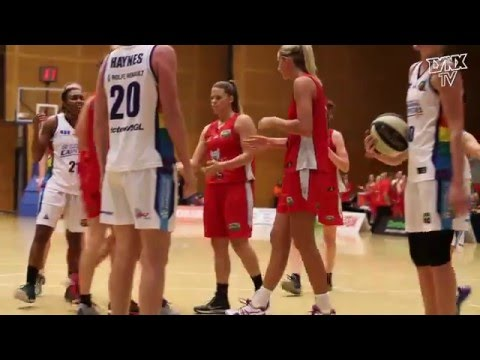 Perth Lynx vs Canberra Capitals Highlights - 18 Decemeber 2015