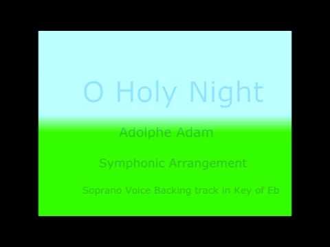 O Holy Night - instrumental Orchestra (Opera Karaoke for Soprano Voice)