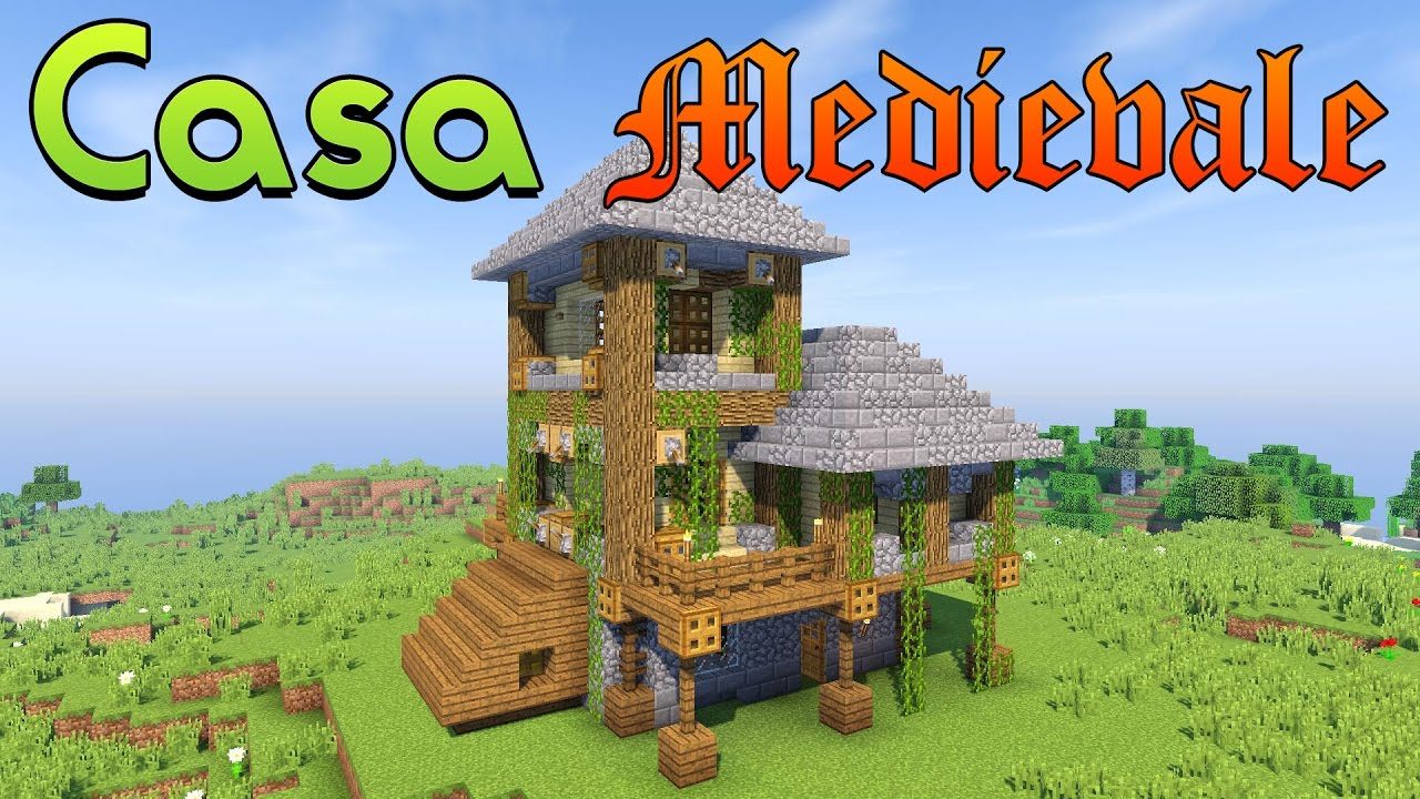 Come costruire una casa medievale senza texture pack for Come livellare una casa