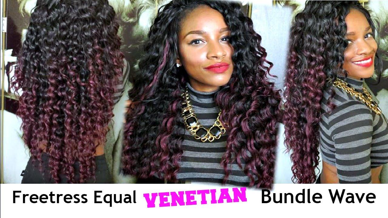 Freetress Equal Venetian Bundle Wave Review