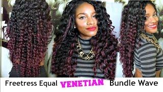Freetress Equal Venetian Bundle Wave