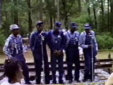 CSX Crew Installing Track and Gandy Dancers (1993)