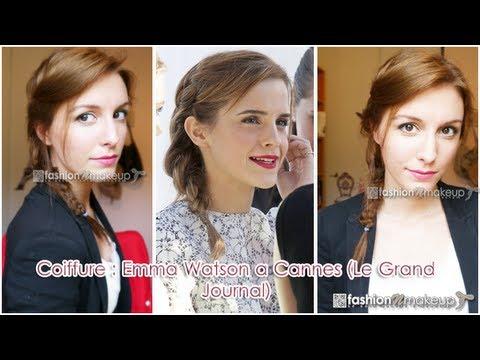 Coiffure Emma Watson Cannes 2013 Agathe Diary Youtube