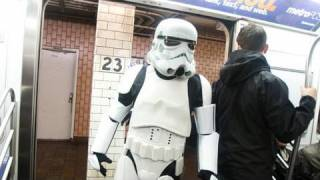 Star Wars Subway Car  - Movies In Real Life