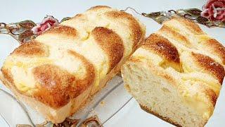 Pão de Trança com Creme Igual da Padaria