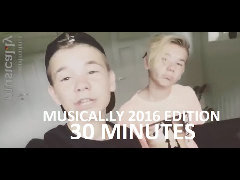 Marcus & Martinus full musical.ly 2016 edition | 30 MINUTES