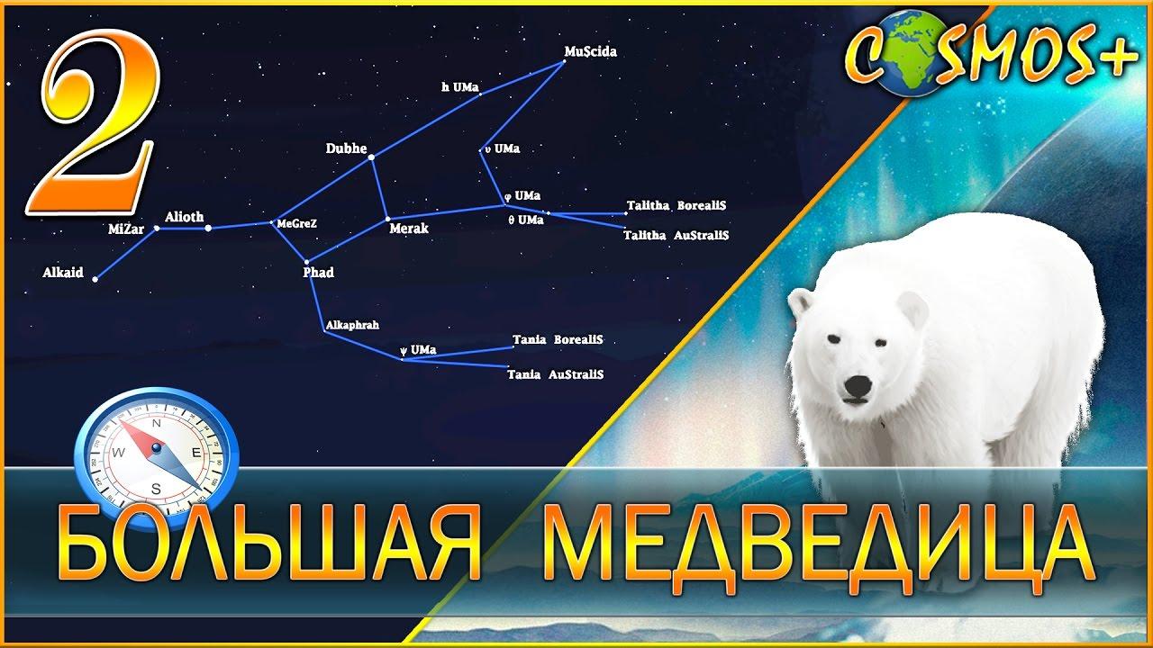 Расположение большой медведицы осенью картинки для детей