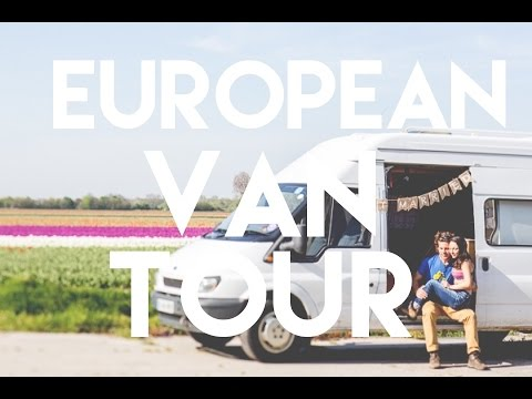 Our EUROPEAN Van Tour // Converted Ford Transit