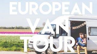 Our EUROPEAN Van Tour // Converted Ford Transit