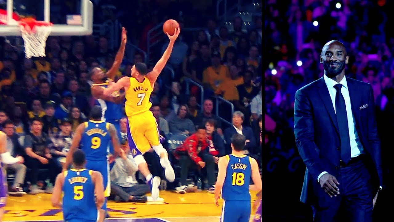 competitive price e3e3b 51cc5 Kobe Bryant Jersey Retirement KD game winner - Warriors vs Lakers