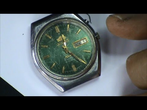 Orient Watch Recondition Part 1