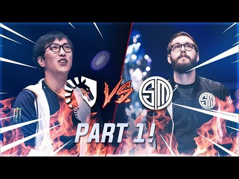 TL vs TSM Games 1 and 2 - TSM's Confident Start and TL's Awful Draft [VOD Review]