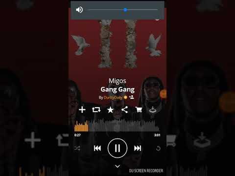 Migos  Gang Gang