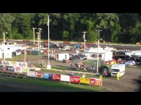 Sport Mod Heat 3 @ Hamilton County Speedway 07/30/16