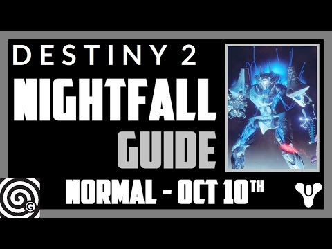 Destiny 2 - Nightfall Guide: The Inverted Spire (Week 6, Oct 10th)