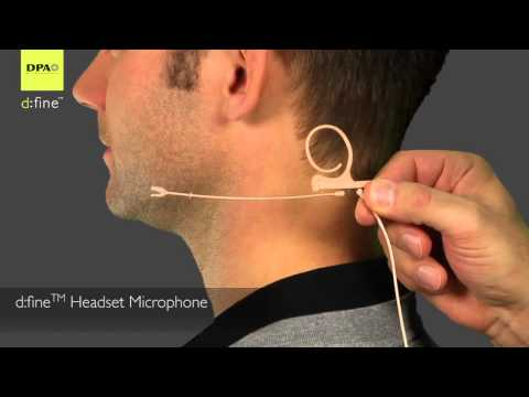 DPA Microphones d:fine Headset: By John Young of the Disc Jockey News