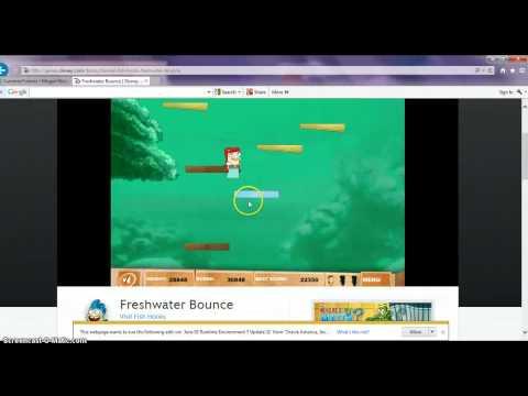 FreshWater Bounce Gameplay