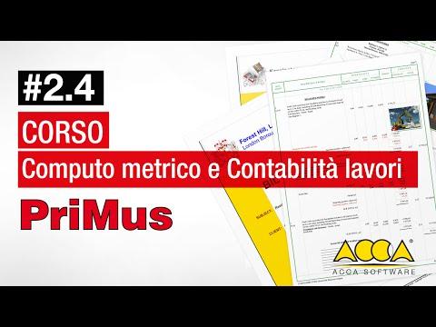 Computo Metrico e Contabilità Lavori Corso PriMus Lez 2.4-Contabilità Lavori Pubblici