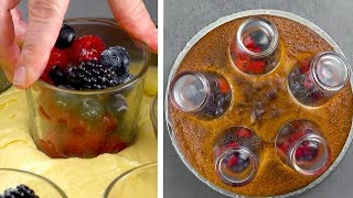 5-Glass Trick Gives This Cake A Unique Look