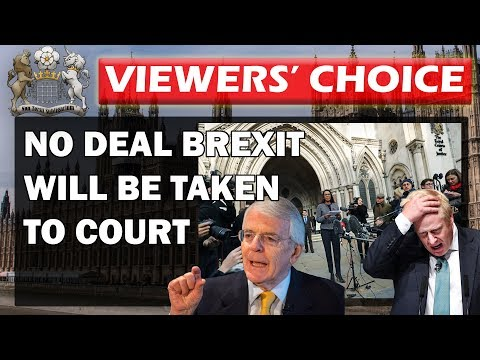 No Deal Brexit Attempts Will go to Court
