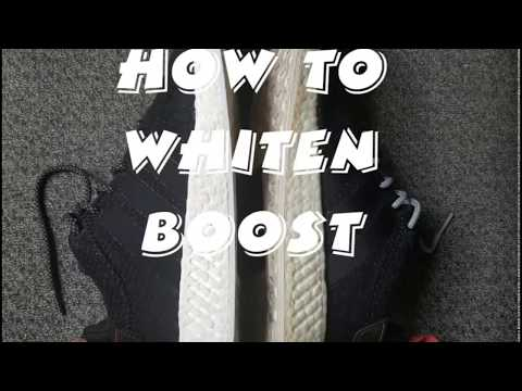 How to RESTORE BOOST WHITE SOLE on NMD, UltraBoost and PureBoost