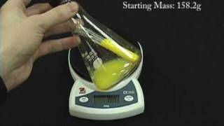 Chemistry Concepts: Conservation of Mass/Energy