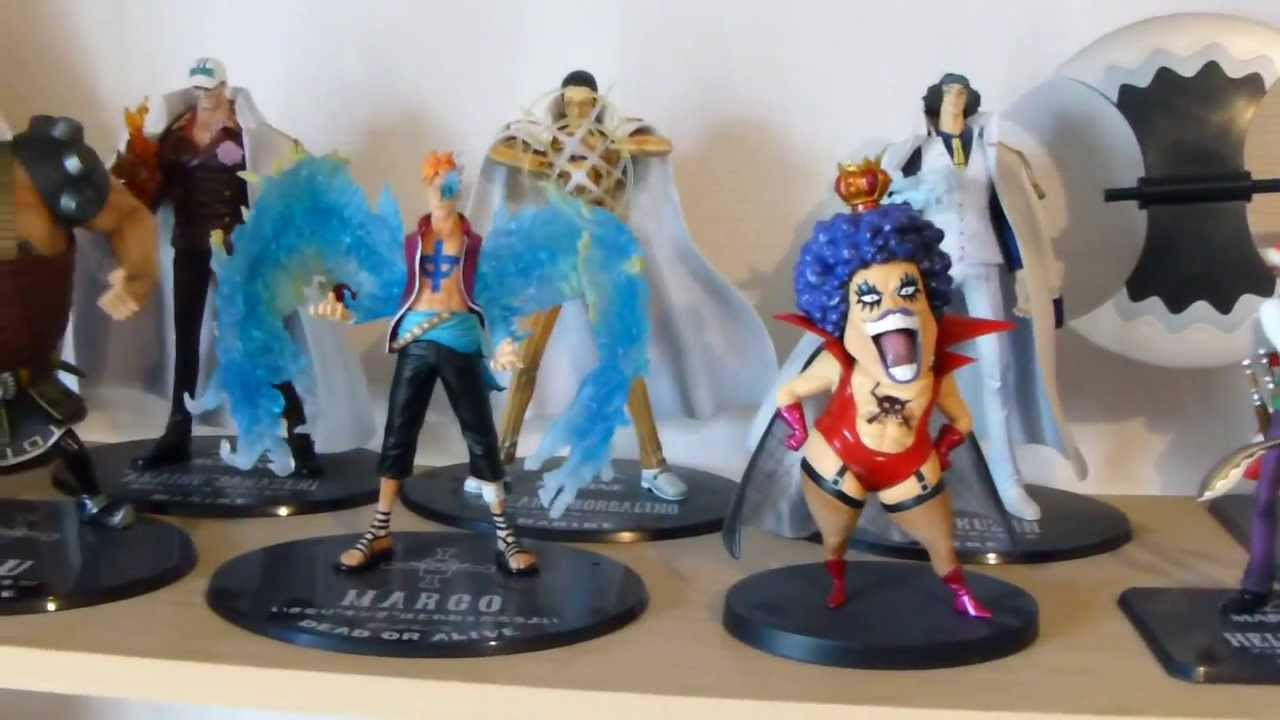 one piece figures collection collection figurines one piece youtube. Black Bedroom Furniture Sets. Home Design Ideas