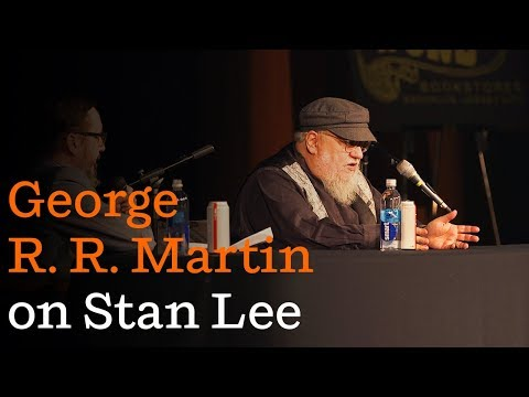 George R. R. Martin on Stan Lee