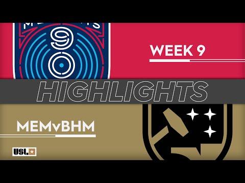 Bluss City Buzzer Blog - Memphis 901 FC Scores But Ends In Tie Vs. Birmingham Legion FC: Highlights
