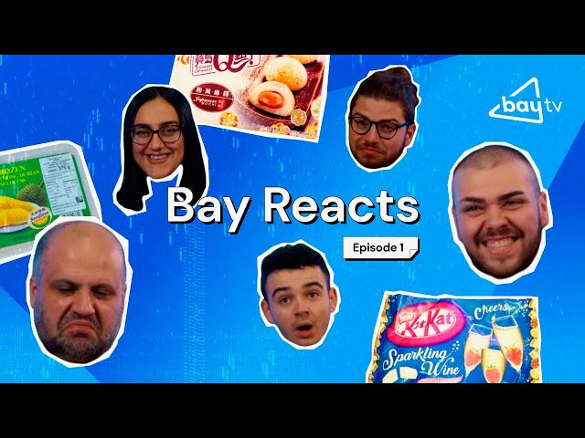 FISH FOOD + THE WORLD'S SMELLIEST FRUIT?! Bay Reacts #1