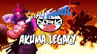 SHIN AKUMA IS BORN - Akuma Legacy: Street Fighter Alpha 2