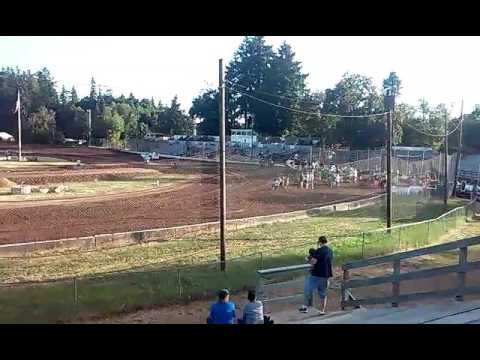 Cottage grove speedway open heat race 1
